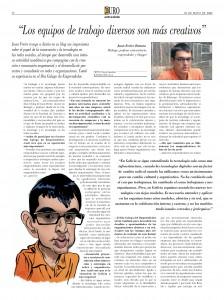 Entrevista en Atlántico Diario