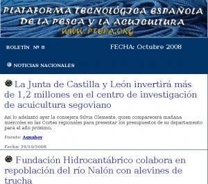 Plataforma Tecnológica de la Pesca y la Acuicultura
